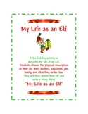 Christmas Writing - My Life as an Elf