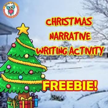 Christmas Writing Activity - FREE