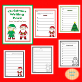 Christmas Writing Pack Acrostic Poems and Story Starters