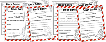 Christmas Writing Pack- Prompts, Letters and Frames