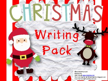Christmas Writing Pack: Writing Prompts