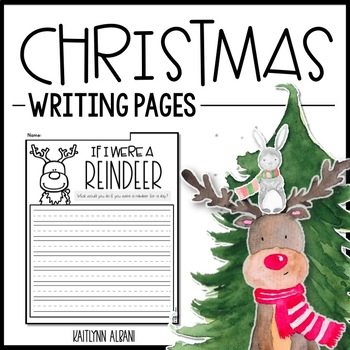 Christmas Writing Pages - Creative Writing Prompts