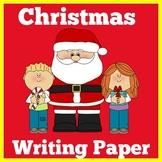 Christmas Writing Paper   Christmas Writing Stationery