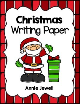 Christmas and December Writing Paper