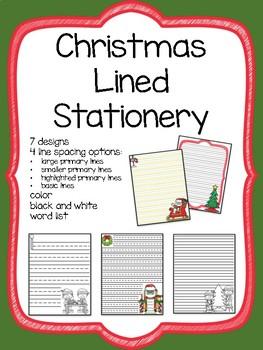 Christmas Writing Paper