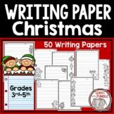 Christmas Writing Paper 3rd-5th