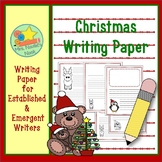 Writing Paper Christmas