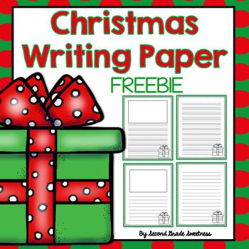 Christmas Writing Paper *FREEBIE*