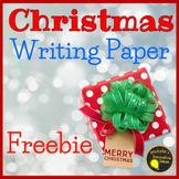 Christmas Writing Paper - Free!