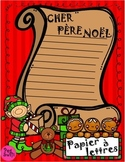 Christmas Writing Paper ~ French