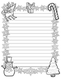 Christmas Writing Paper (Stationary)