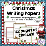 Christmas Writing Paper (122 pages of Choices!)