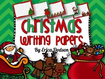 Christmas Writing Papers