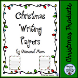 Christmas Writing Papers