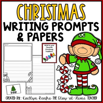 Writing Papers and Prompts Christmas