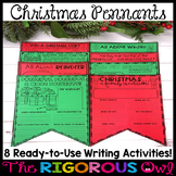 Christmas Writing Pennants