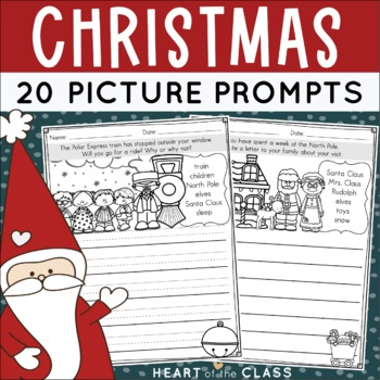 Christmas Writing {Picture Prompts}