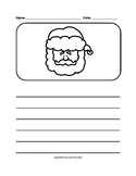 Christmas Writing Picture Prompts (Grades K-2)