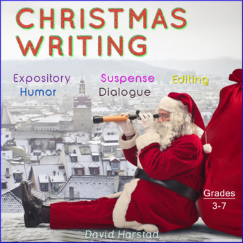Christmas Writing: 11 Printable Prompts (Grades 3-7)