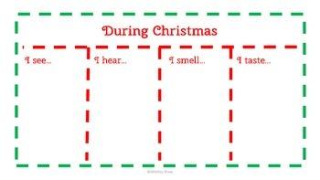 Christmas Writing Process