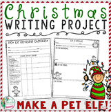 Christmas Writing Project: Make a Pet Elf!!  Tons of Printables