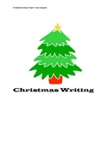 Christmas Writing Project for grades 3-5