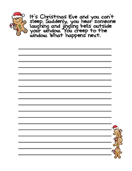 Christmas Writing Prompt - A Freebie