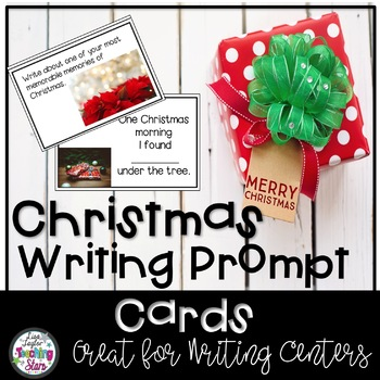 Christmas Writing Prompt Cards