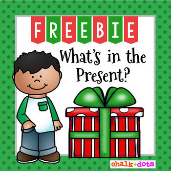 Christmas Writing Prompt FREEBIE - What's in the Present?