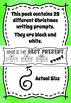 Christmas Writing Prompt Task Cards - Black and White Ink