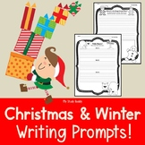 Winter & Christmas Writing Prompts (1st Grade, Christmas Literacy Centers)