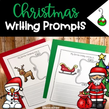 Christmas Writing Prompts {25 Prompts}