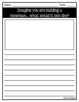 Christmas Writing Prompts - 3rd/4th Grade