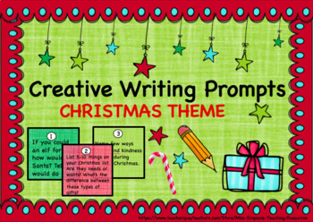 30 Christmas Writing Prompts