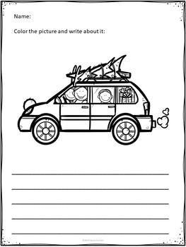 Christmas Writing - Visual Prompts