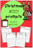 Christmas Writing Prompts (8 NO PREP PAGES)
