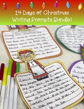 Christmas Writing Prompts Bundle!