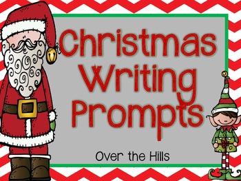 Christmas Writing Prompts--{FREEBIE}