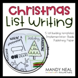 Christmas Writing Prompts  Writing Center  Writing Worksho