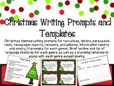 Christmas Writing Prompts and Templates
