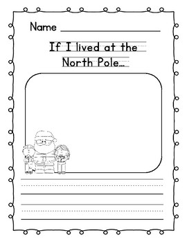 christmas writing prompts for preschool