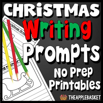 Christmas Writing Prompts for Third Graders