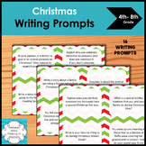 Christmas Writing Prompts for upper elementary and middle school
