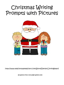 Christmas Writing Prompts with Pictures