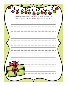 Christmas Writing Review