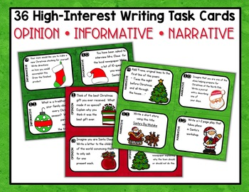 Christmas Writing Prompts and Activities