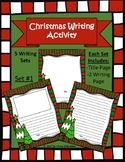 Christmas/Winter Writing Template