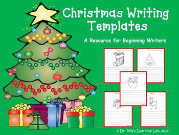 Christmas Descriptive Writing & Story Templates (a resource for young writers)
