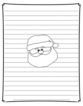 Christmas Writing Templates