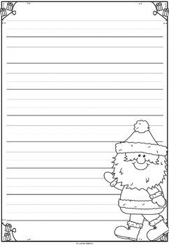Christmas Writing Templates {Dear Santa}